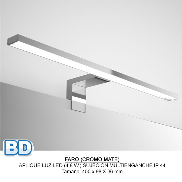 Fussion Chrome Salgar - Meuble salle de bain - Article15