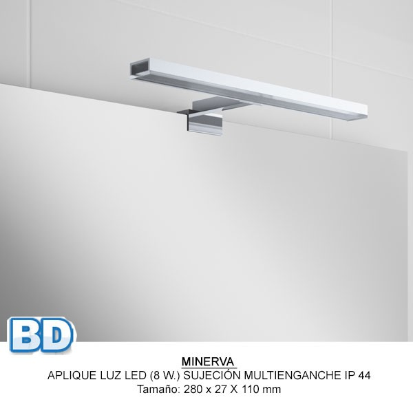 Meuble salle de bain Fussion Chrome de Salgar - Article12