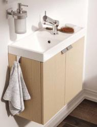 meuble salle de bain et vasque largeur 50 cm. Black Bedroom Furniture Sets. Home Design Ideas
