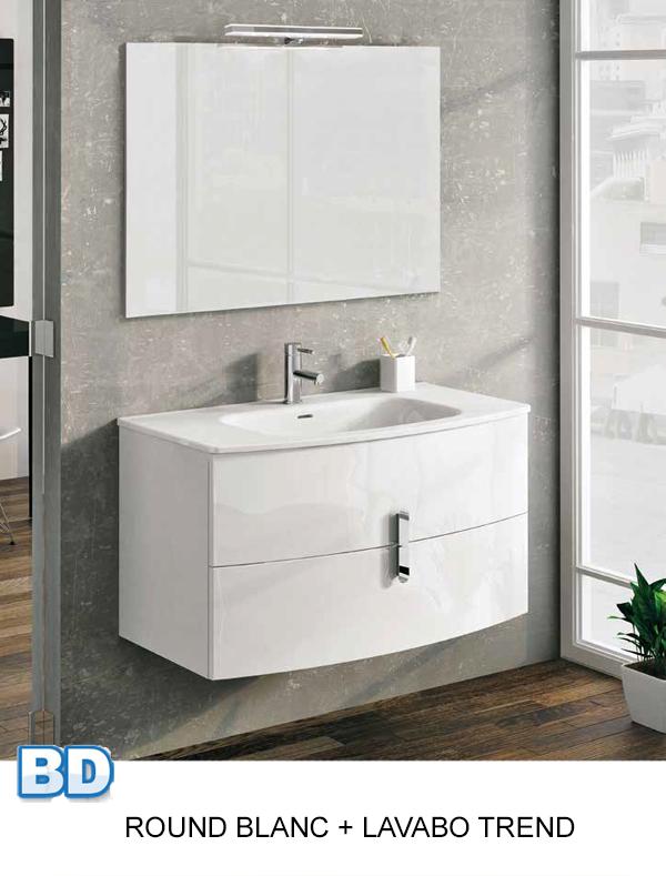 Meuble salle de bain Round de Royo - Article1