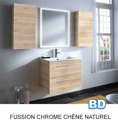 Fussion Chrome Salgar - Meuble salle de bain - Article3