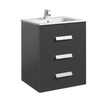 Meuble salle de bain et lavabo largeur 60 cm for Roca salle de bain