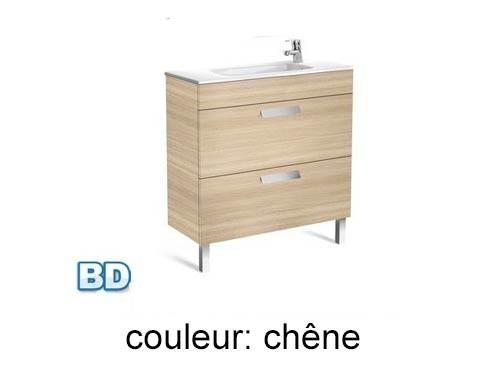 Roca, meubles de salle de bain avec tiroirs, fond réduit - Article4