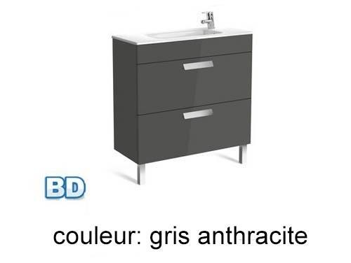 Roca, meubles de salle de bain avec tiroirs, fond réduit - Article2