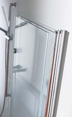 Porte de douche pliante design huppe for Porte de douche pliante