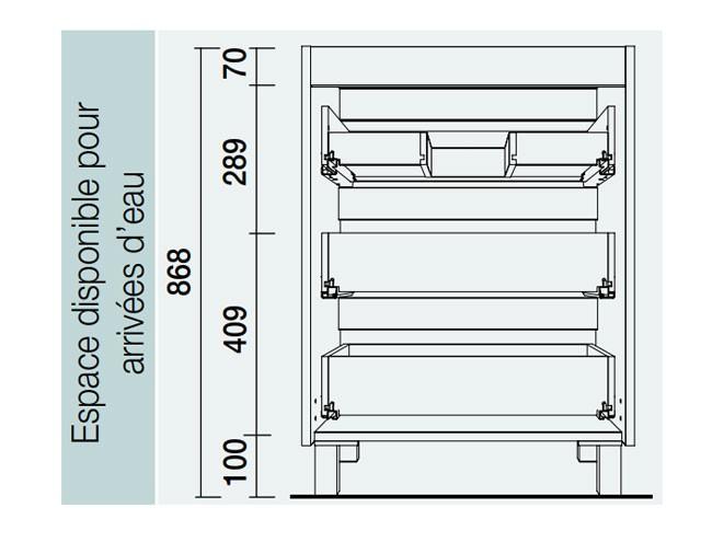 Meuble salle de bain Fussion Line de Salgar - Article3