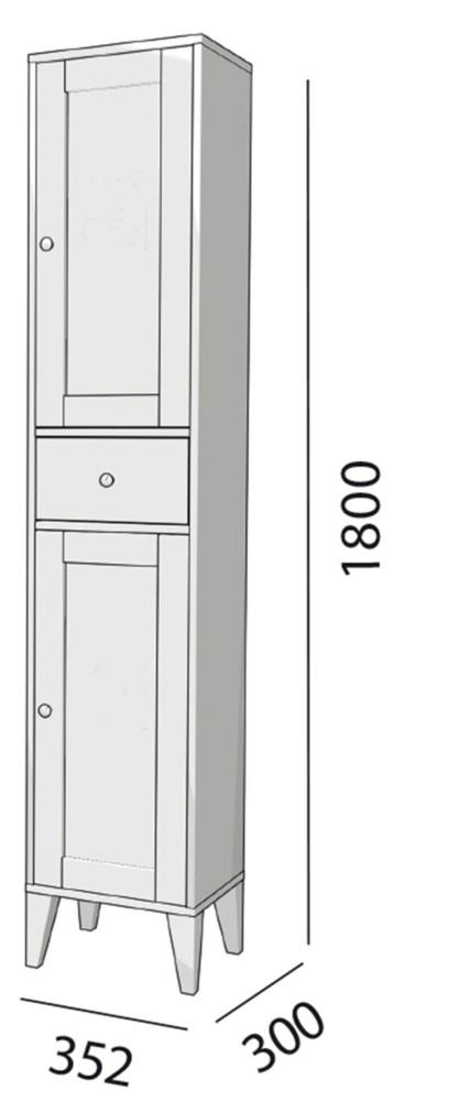 Meuble salle de bain Boheme de Salgar - Article11