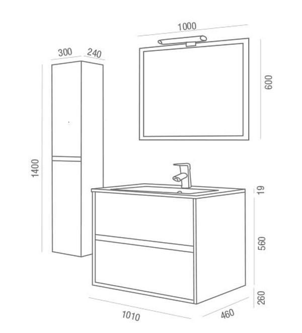 Noja Salgar - Meuble salle de bain - Article5