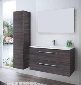 Fussion Chrome Salgar - Meuble salle de bain