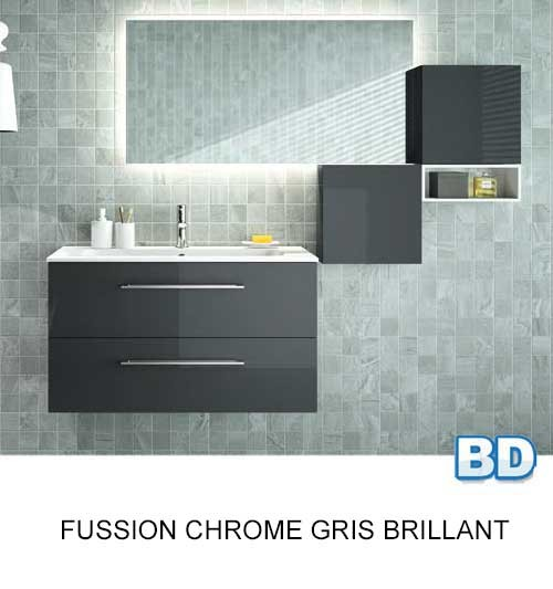 Fussion Chrome Salgar - Meuble salle de bain - Article6