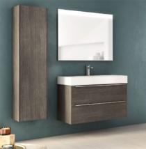 Meuble et lavabo largeur 80 cm decoration salle de bain for Meuble de salle de bain roca