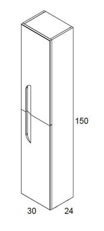Meuble salle de bain Vitale 120 cm de Bannio - Article3