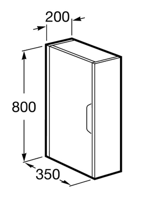 Meuble de salle de bain Roca, Kalahari - Article9