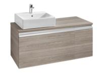 Meuble salle de bain et lavabo largeur 110 cm decoration for Meuble largeur 110