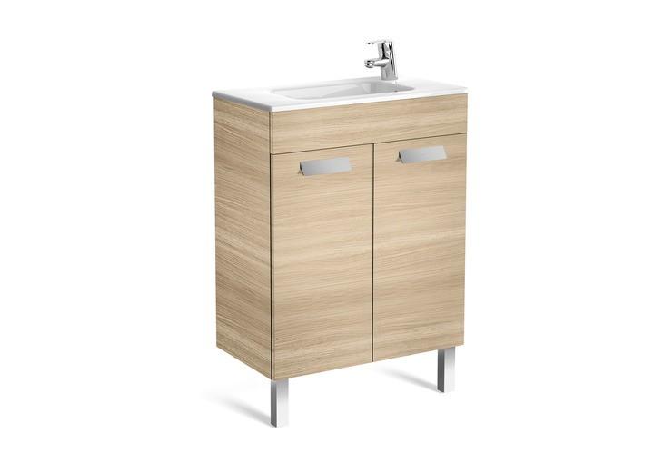 Meuble de salle de bain unik debba 2 portes roca for Meuble de salle de bain roca
