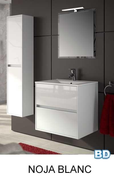 meuble salle de bain noja 600