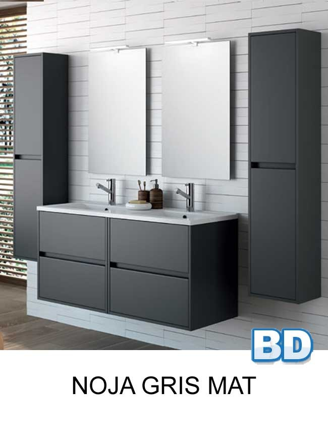 meuble salle de bain noja 120 cm de salgar ba o decoraci n. Black Bedroom Furniture Sets. Home Design Ideas
