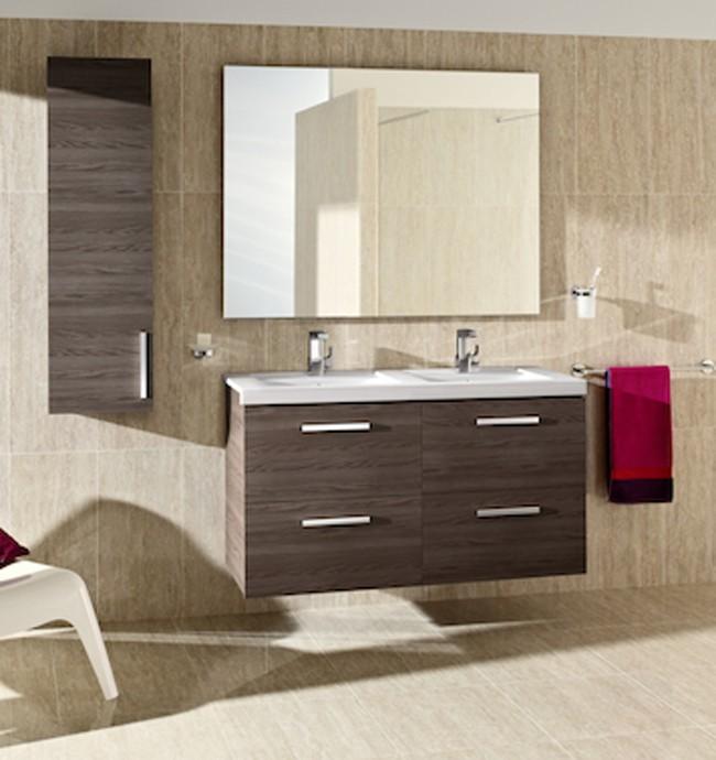 Meuble salle de bain Pack Prisma 4 tiroirs de Roca