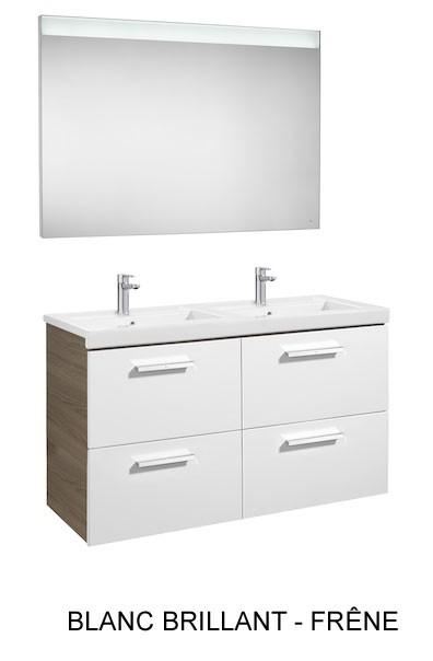 Meuble salle de bain Pack Prisma 4 tiroirs de Roca - Article8