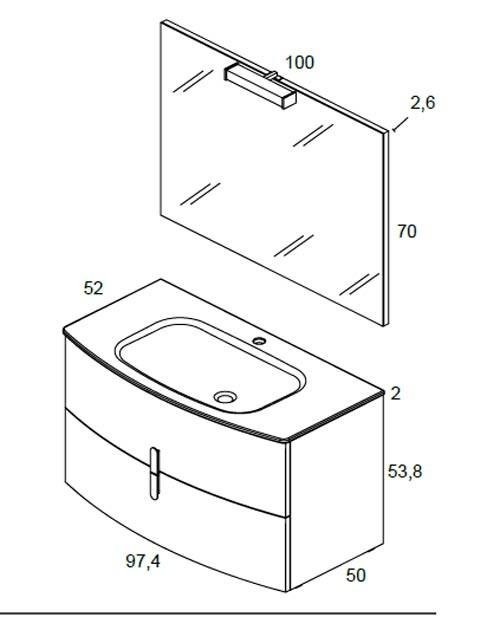 Meuble salle de bain Round de Royo - Article5
