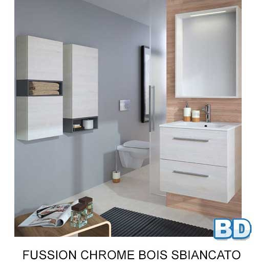 Fussion Chrome Salgar - Meuble salle de bain - Article1