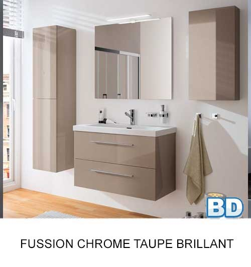 Fussion Chrome Salgar - Meuble salle de bain - Article2