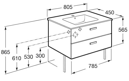 meuble salle de bain victoria - Article3
