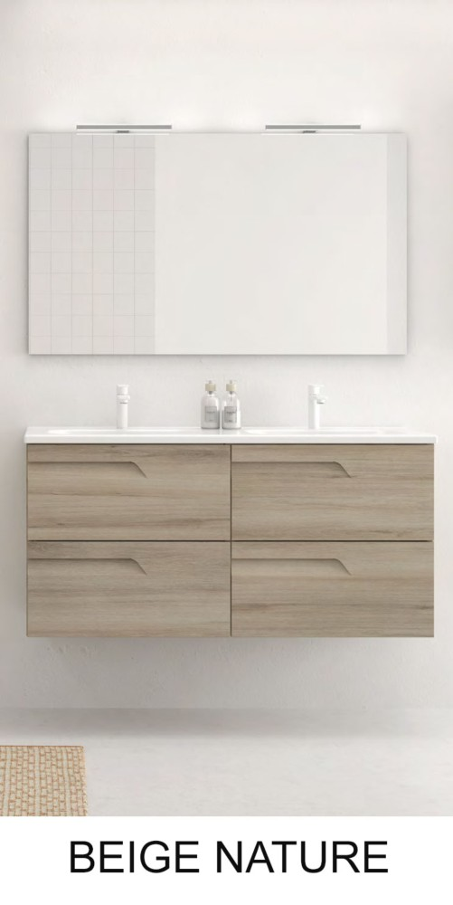 Vitale Royo 120 cm - Meuble salle de bain