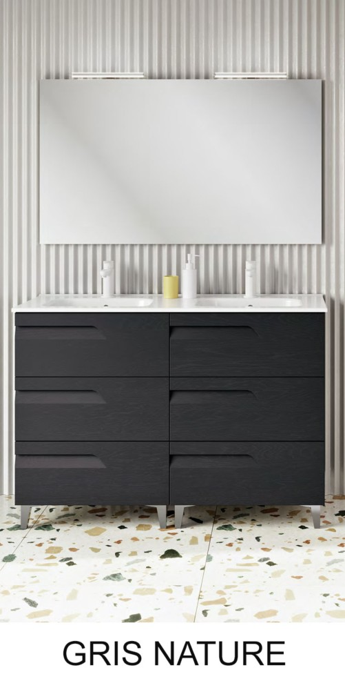 Vitale Royo 3 tiroirs - Meuble salle de bains - Article7