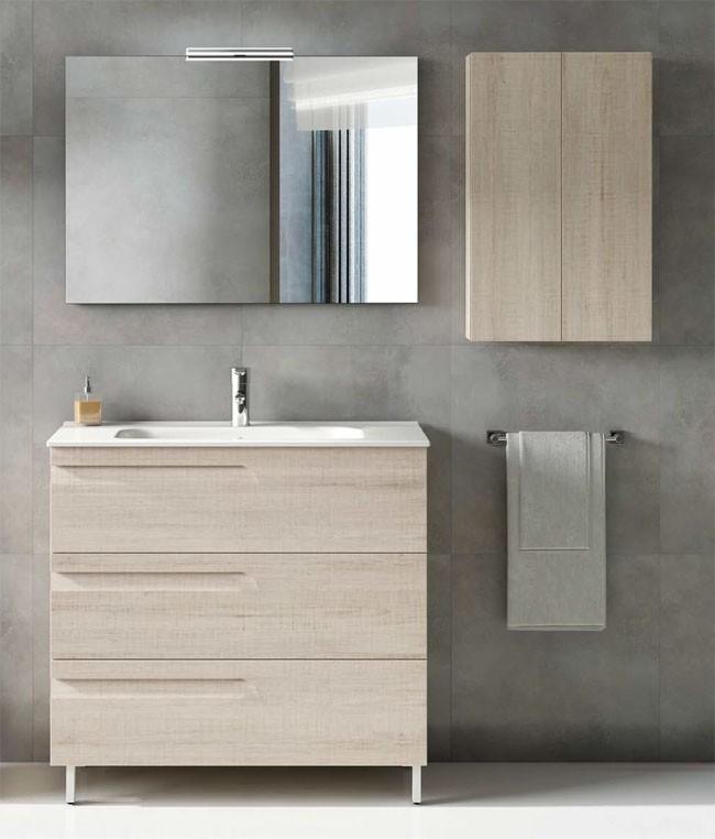 Vitale Royo 3 tiroirs - Meuble salle de bains