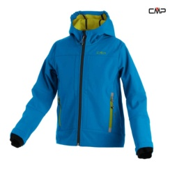 CAMPAGNOLO BOY SOFTSHELL JACKET FIX HOOD