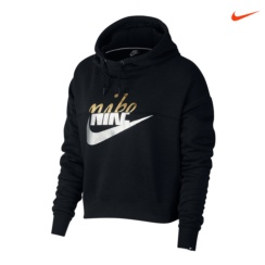 SUDADERA NIKE RALLY METALLIC