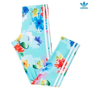 Pantalón adidas J FLWR LEGG AOP BK2038