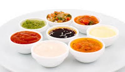 Salsas, especias, aceites y sopas.
