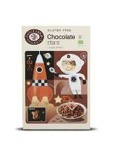 estrellas de chocolate sin gluten